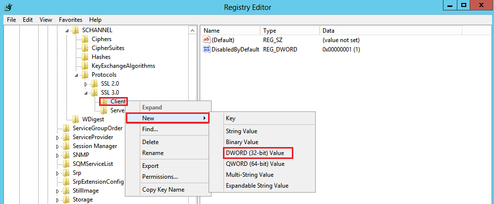 Windows Registry Key