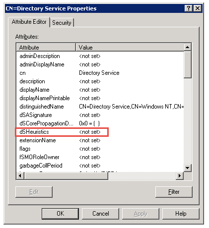 How do I enable or disable anonymous LDAP binds to Windows